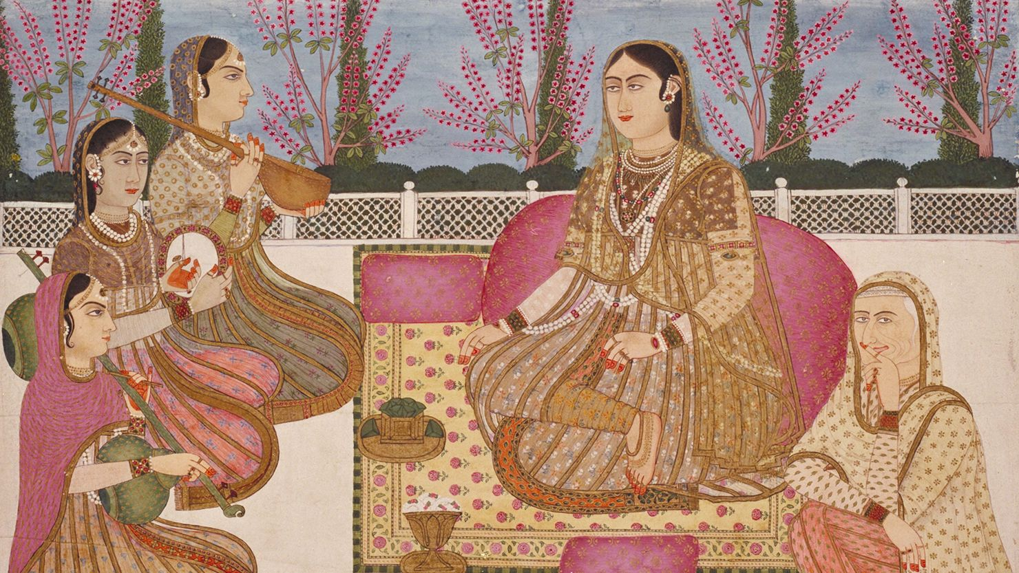 Mughal Drawing © The Box, Plymouth