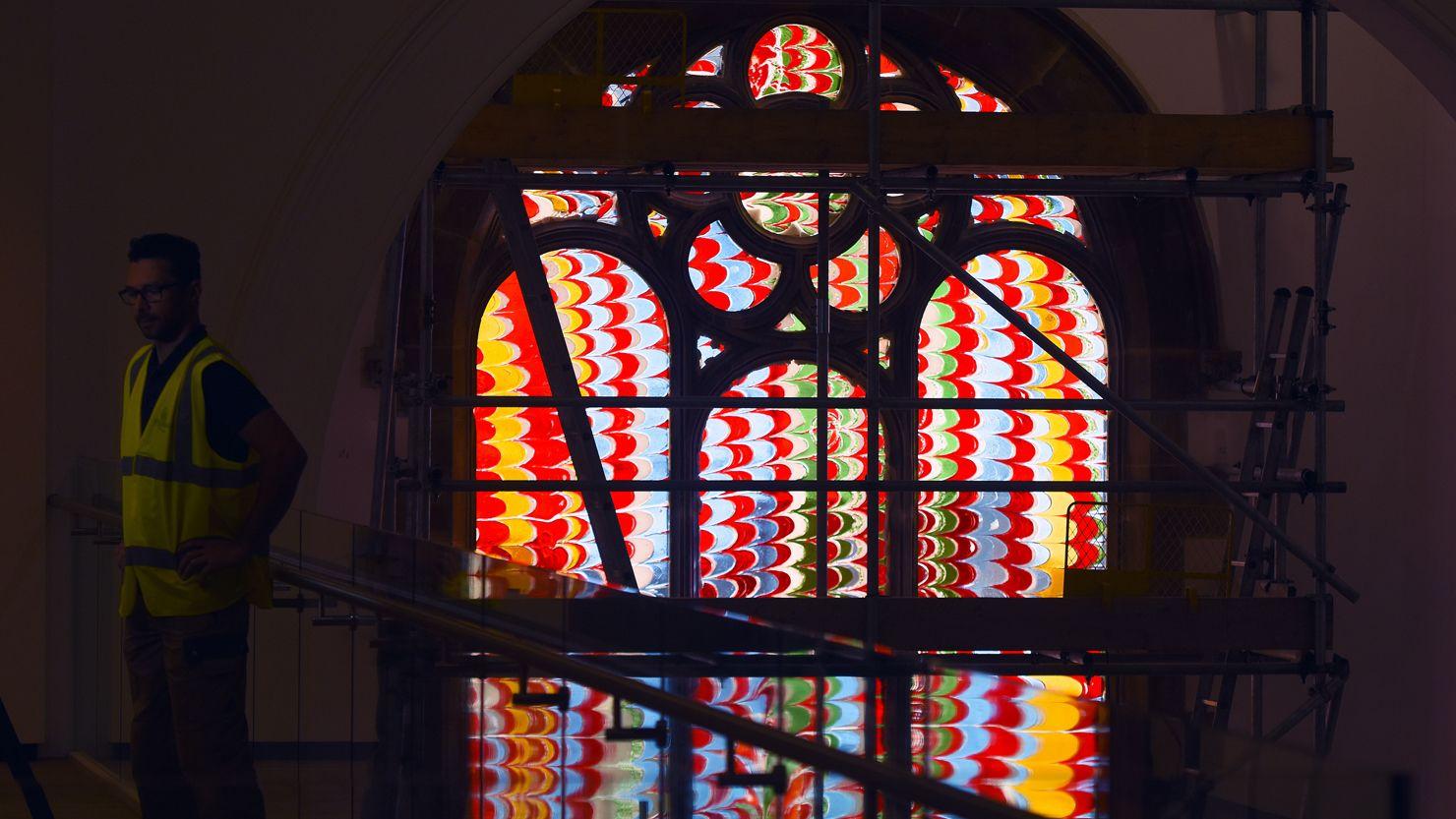 St Luke's Church window