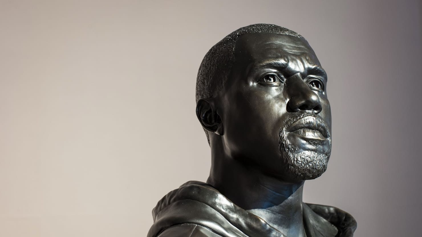 Kanye West sculpture by Kehinde Wiley