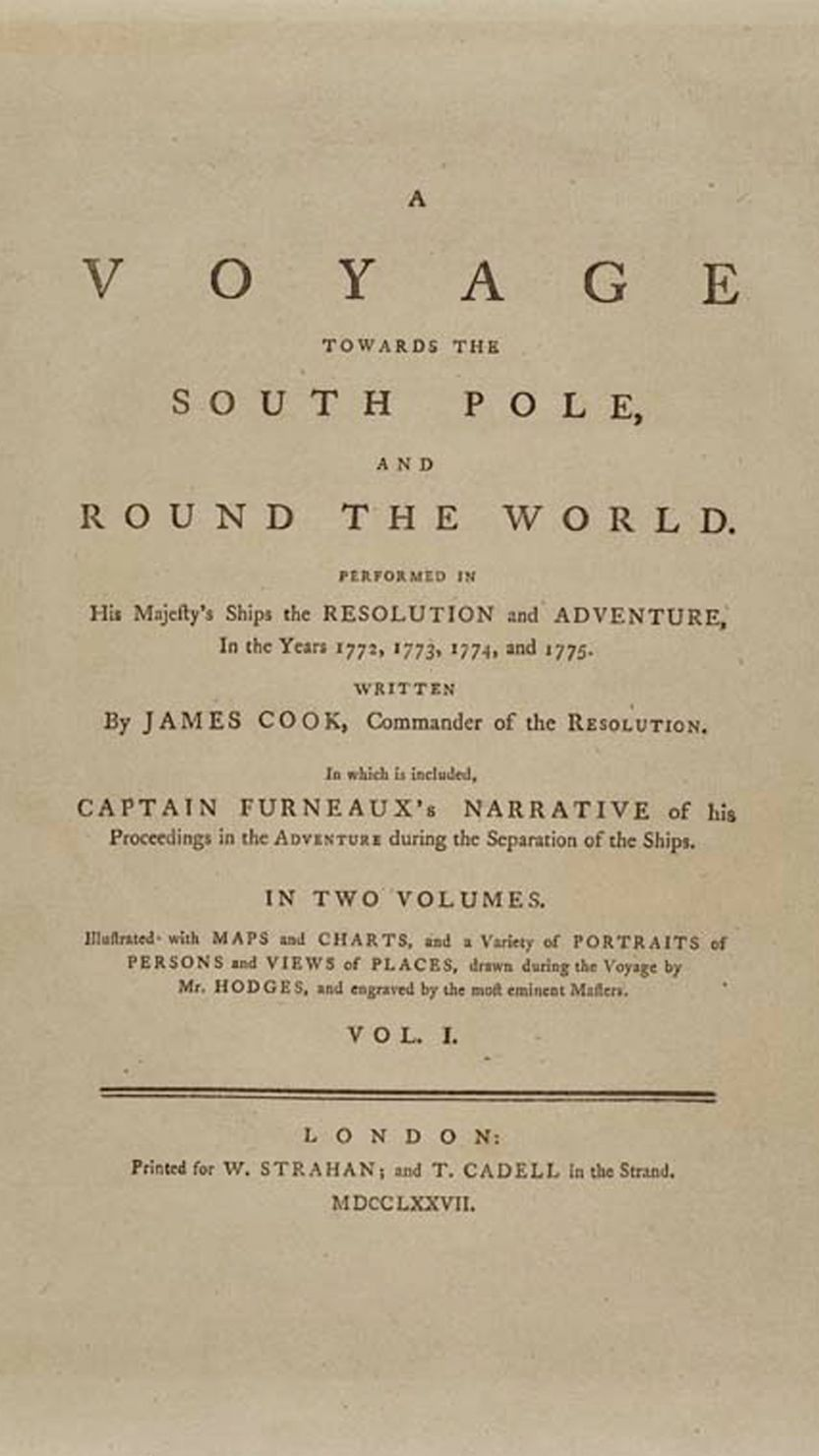 Captain Cook's Journal cover