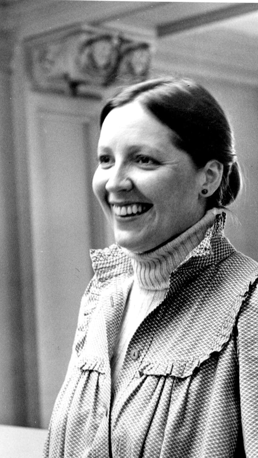 Maureen Attrill, c. 1980. Image courtesy of the Attrill family.