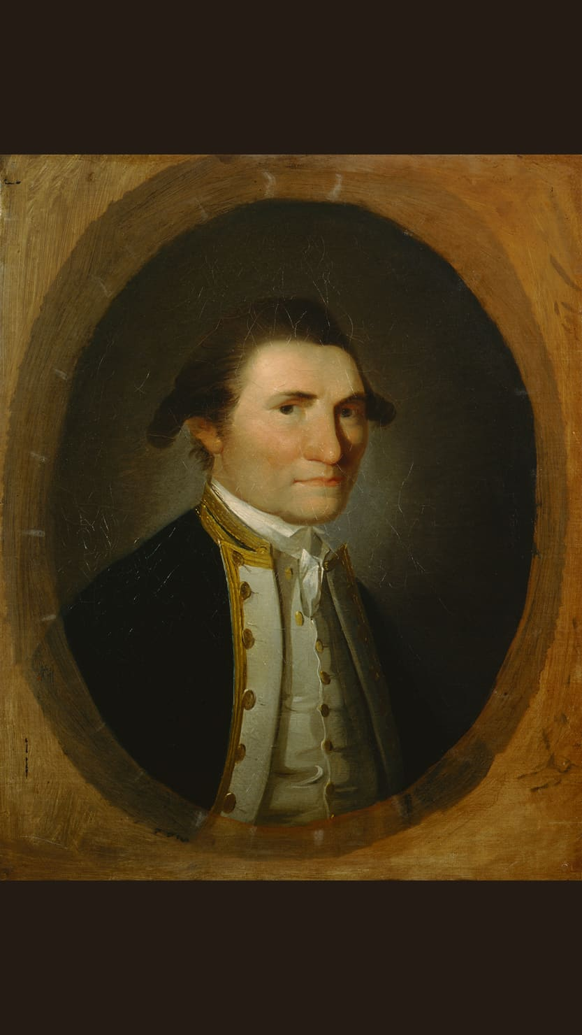 James Cook, 1776 by John Webber © National Portrait Gallery