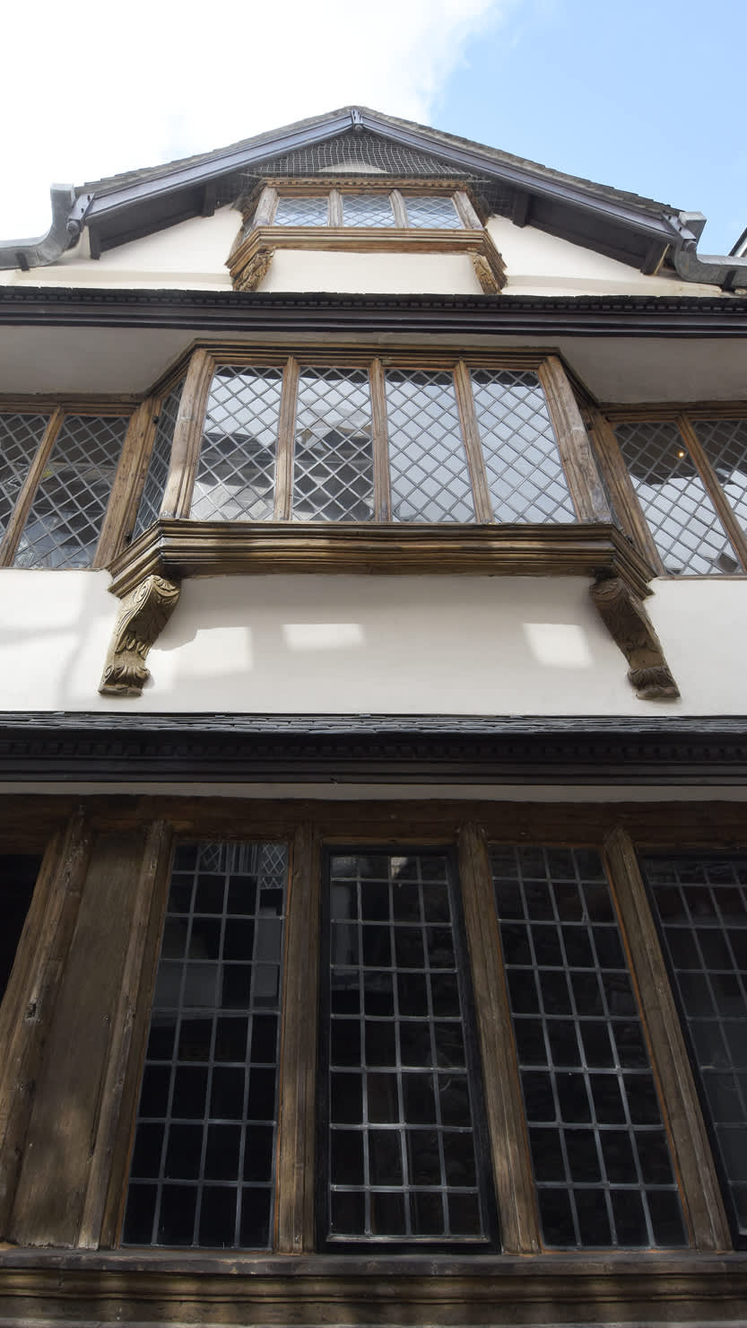 Exterior of Elizabethan House in Plymouth