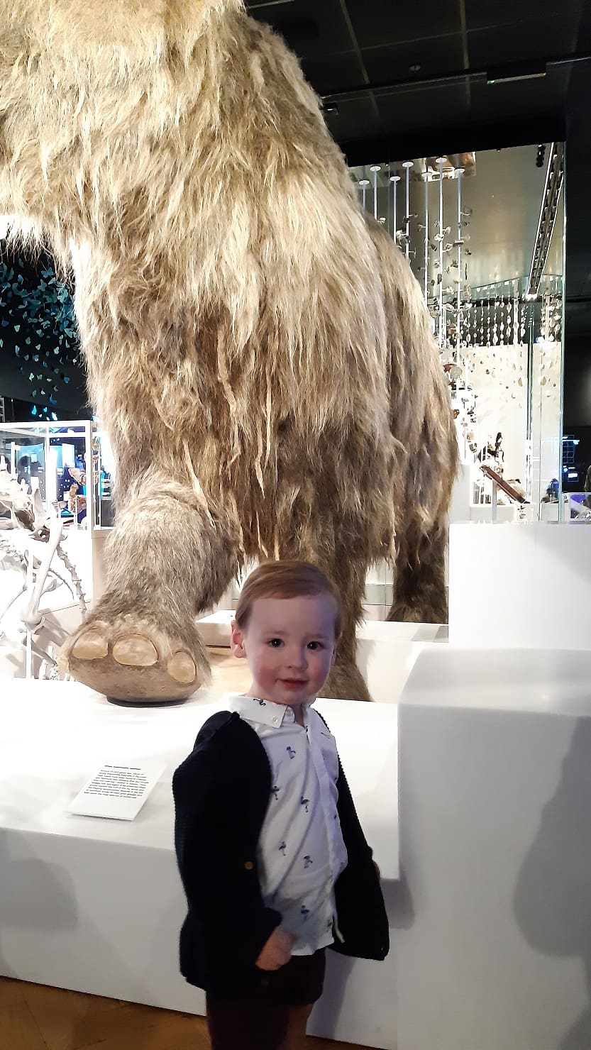 21-month old Oliver Roberts whose mum Rachael entered the competition on his behalf