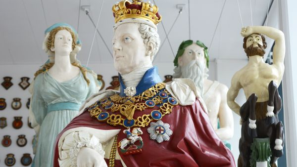 Naval Figureheads | The Box Plymouth