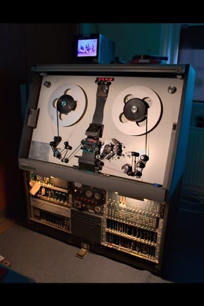 Rank Cintel machine in the 'Media Lab' at The Box