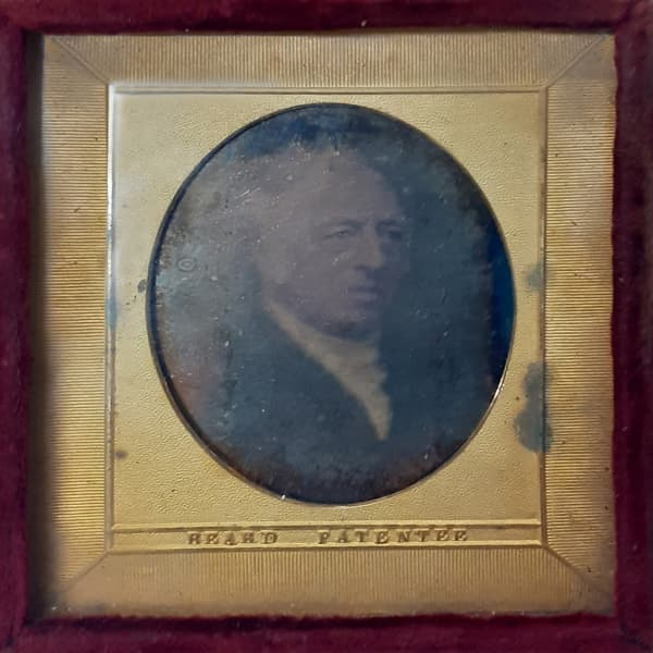 One of the original daguerreotypes discovered in the archive