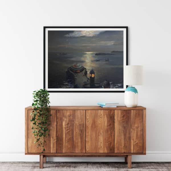 Moonlight and Searchlight print