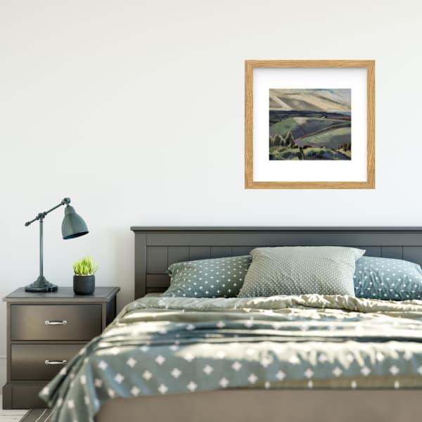 Green Devon print