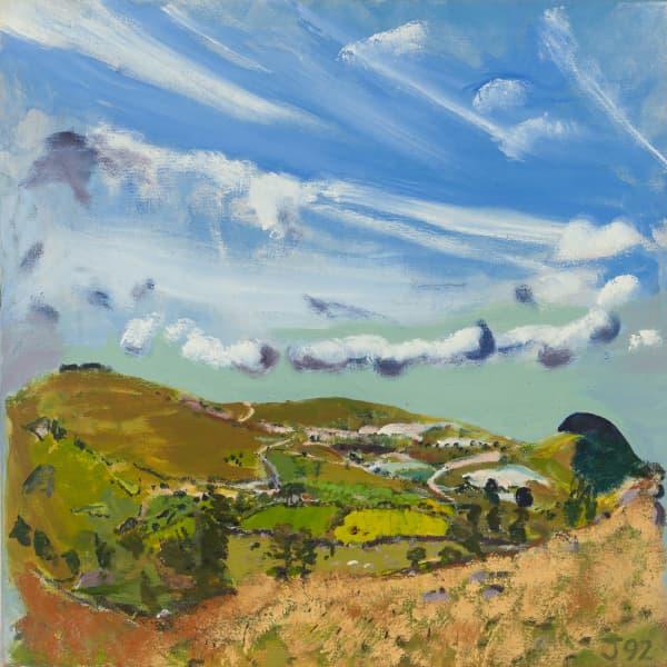 Dartmoor China Clay by Jean Jones