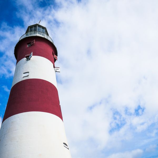 Photograph of Smeaton's Tower Plymouth