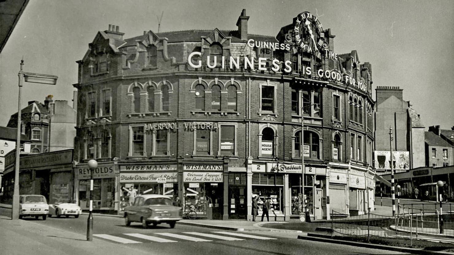 Guinness Clock image