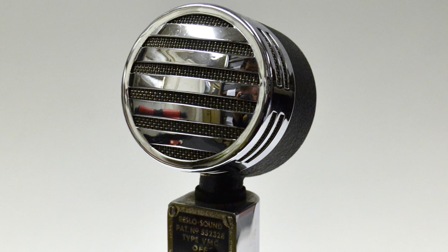 The Box | Blitz 80: King George VI microphone