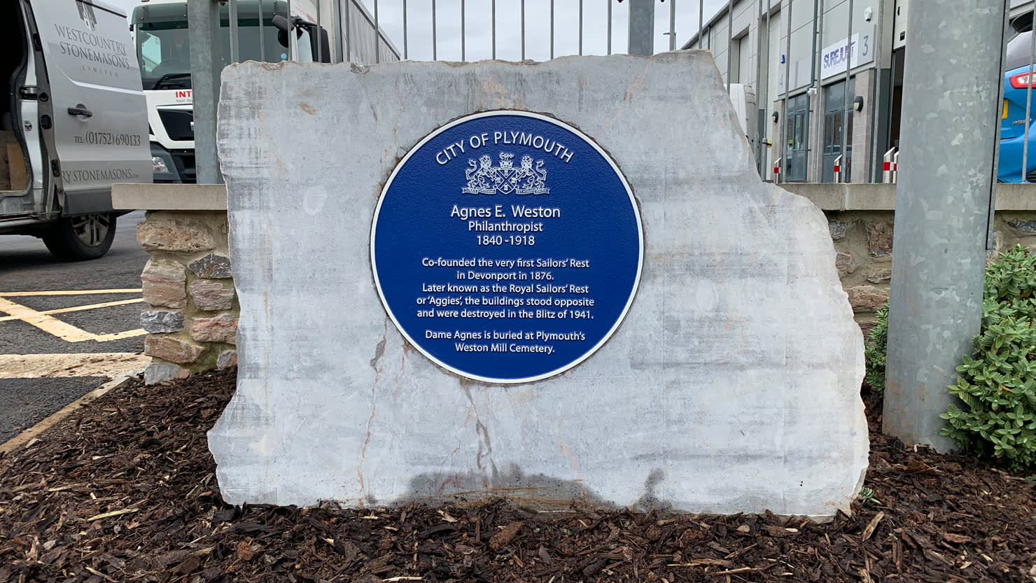 The Box | New blue plaques celebrate famous Plymouth women