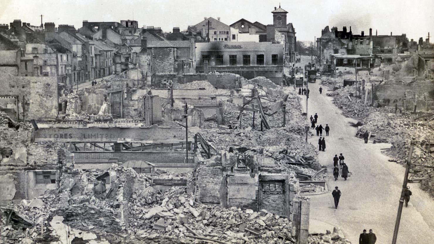The Blitz of Plymouth - Vocabulary