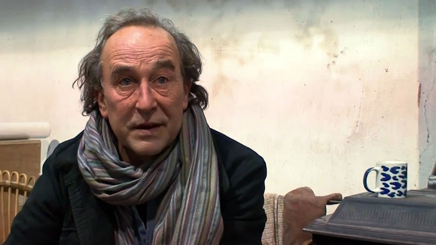 Peter Randall-Page: in the process of [doing something]