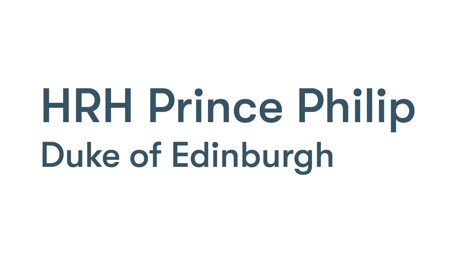 The Box | HRH Prince Philip, Duke of Edinburgh