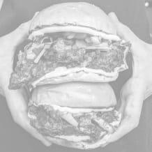 Photo of menu item: POLLO ASADO CHICKEN BURGER!