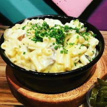 Photo of menu item: Truffled Mushroom Mac & Cheese