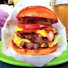 Photo of menu item: Bacon Cheese Burger