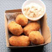 Photo of menu item: Mac 'N' Cheese with Chipotle Mayo