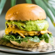 Photo of menu item: Hulk Burger