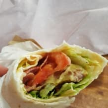 Photo of menu item: Buttermilk Tender Wrap
