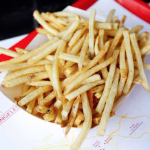Photo of menu item: Skin on fries (Small)