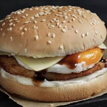 Photo of menu item: Chicken and Egg Burger Meal
