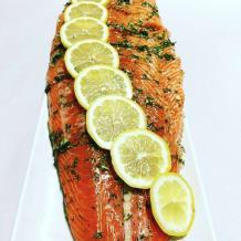Photo of menu item: Dill Salmon