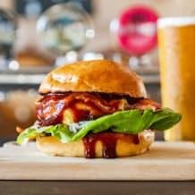 Photo of menu item: The BFC week #2 Champion - The Peanut Bacon Bastard