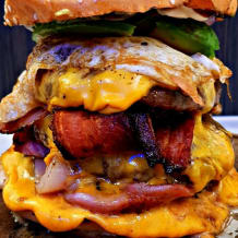 Photo of menu item: Load it Cheeseburger