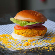 Photo of menu item: TWISTIES SALT FRITZEN BURGER