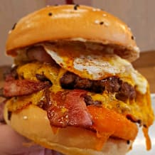 Photo of menu item: Breakfast Burger