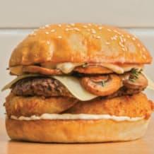 Photo of menu item: Swiss Mushroom Melt