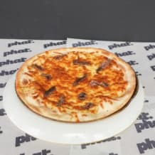 Photo of menu item: 11'' Anchovy, Cheese and Chilli Pizza