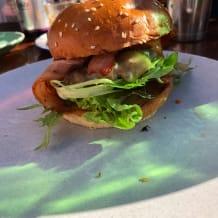 Photo of menu item: Salty Joe's Cheesy & Bacon