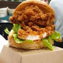 Photo of menu item: Halloumi Burger