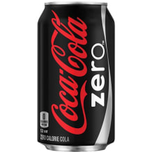 Photo of menu item: Coke Zero (Can)