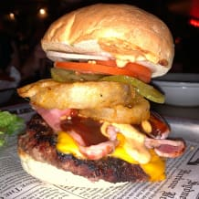 Photo of menu item: Cowboy Burger