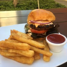 Photo of menu item: American Cheeseburger