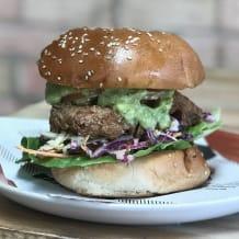 Photo of menu item: Buttermilk Free-Range Chicken Burger