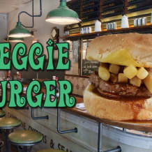 Photo of menu item: The Reggie Burger