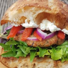 Photo of menu item: Eastern Chicken Burger