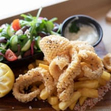 Photo of menu item: Calamari pack