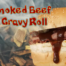 Photo of menu item: Smoked Beef & Gravy Roll