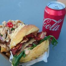 Photo of menu item: Ensaymada Burger