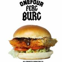 Photo of menu item: THE ONEFOUR FERG BURG