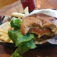 Photo of menu item: TJ Chicken Burger