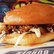 Photo of menu item: Pulled Pork Sambo